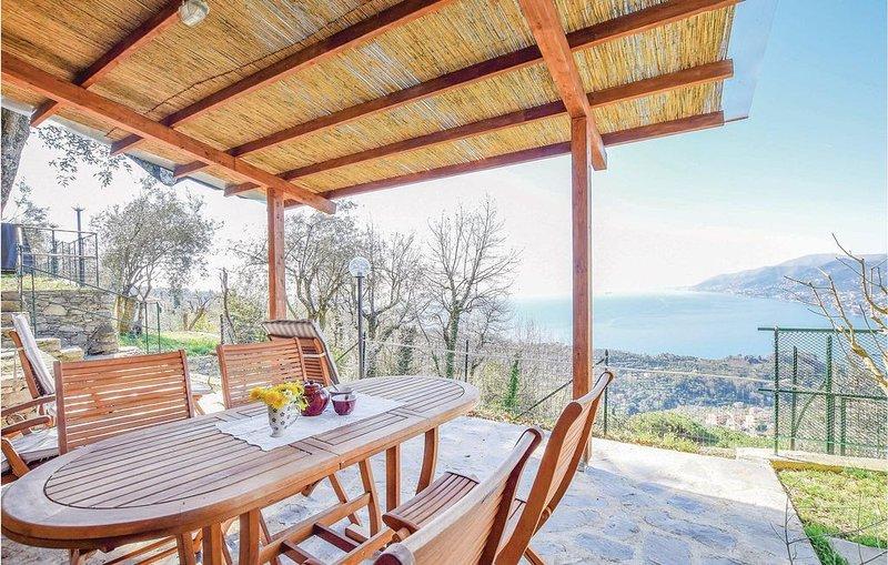 1 Zimmer Unterkunft in Ruta di Camogli -GE-, vacation rental in Camogli