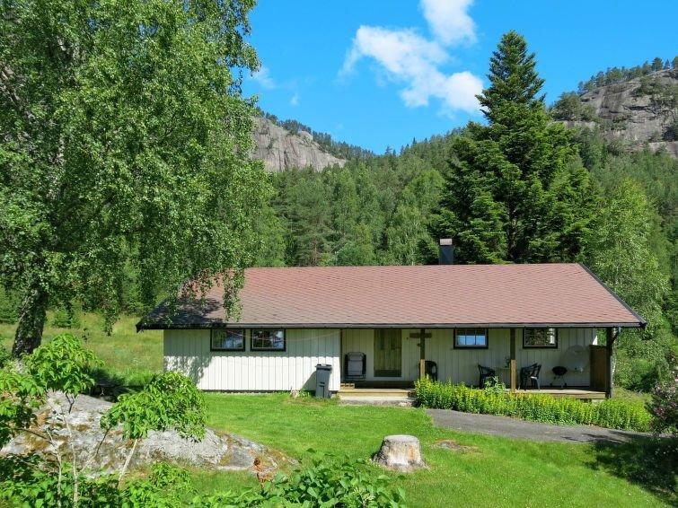 Ferienhaus Dalsnipen (TEM029) in Treungen - 6 Personen, 3 Schlafzimmer, vacation rental in Telemark