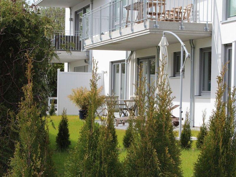 FeWo in Scharbeutz,familienfreundlich,strandnah,Terrasse,Garten,bis 4 Personen, location de vacances à Scharbeutz
