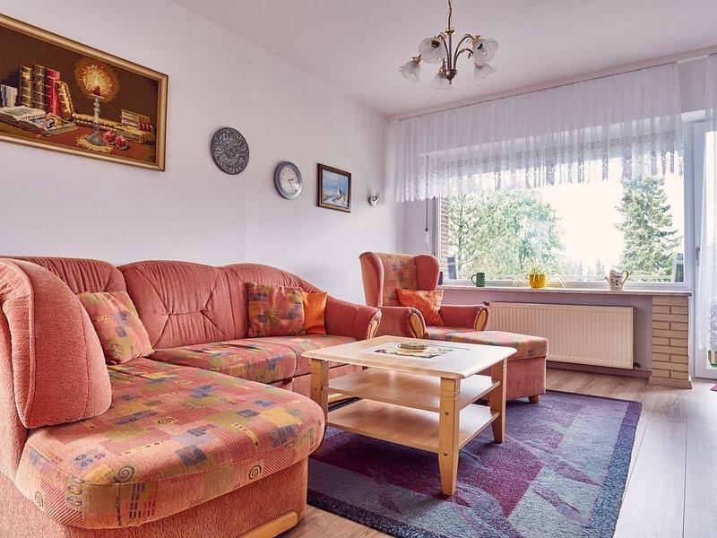 FeWo Walter - Haus 1 St. Andreasberg, Südhang, Waldrand, sehr ruhig, Wlan, vacation rental in Sankt Andreasberg