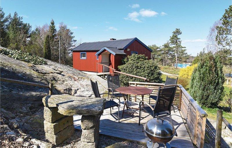 1 Zimmer Unterkunft in Jörlanda – semesterbostad i Halleviksstrand