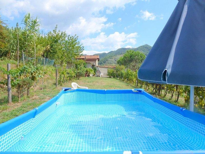 Rustico für 5 Personen in ruhigen Lage, holiday rental in Nocchi