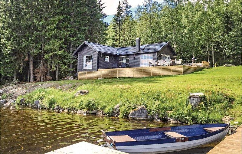 2 Zimmer Unterkunft in Arvika, holiday rental in Glava