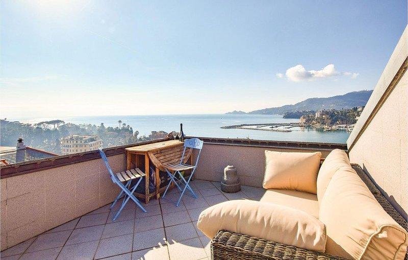 1 Zimmer Unterkunft in Rapallo, holiday rental in Coreglia Ligure