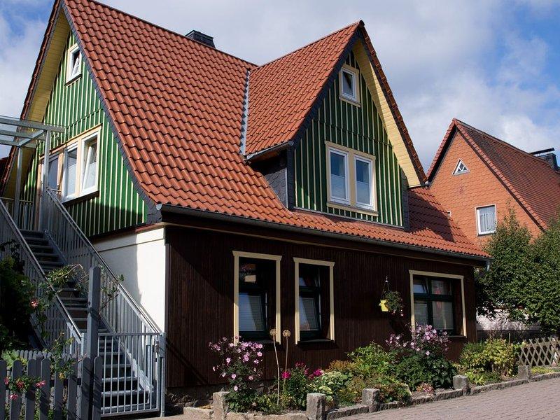 FeWO - 'Hexenstieg' in Schierke-hier beginnt Ihr Urlaub, holiday rental in Tanne