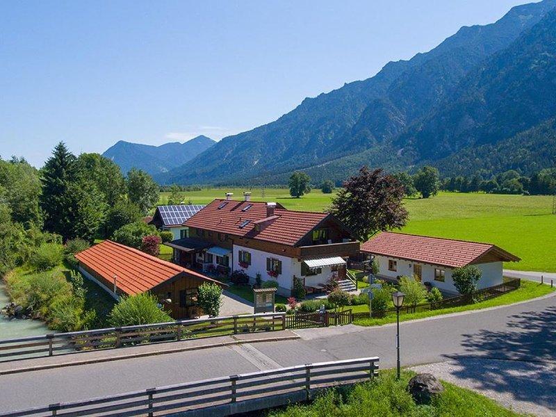 Ferienwohnung Oberau für 1 - 4 Personen mit 2 Schlafzimmern - Ferienwohnung, casa vacanza a Oberammergau