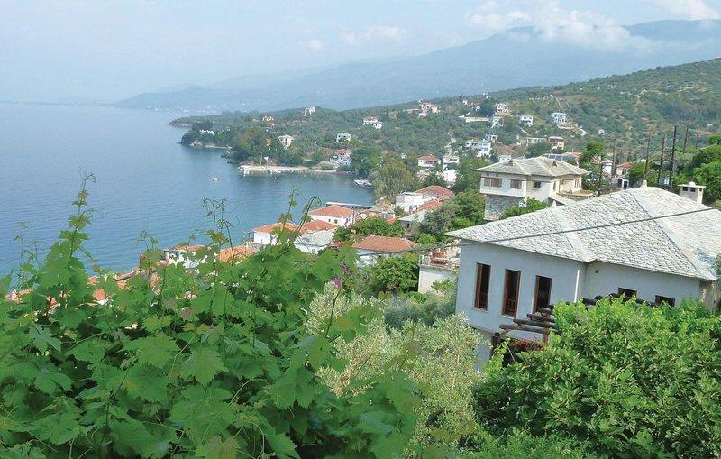 2 Zimmer Unterkunft in Afissos, holiday rental in Argalasti