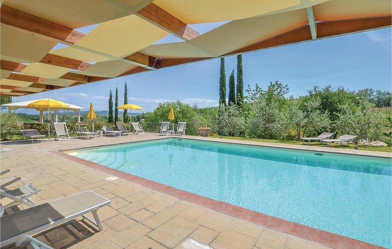 2 Zimmer Unterkunft in Bucine (AR), location de vacances à San Leolino