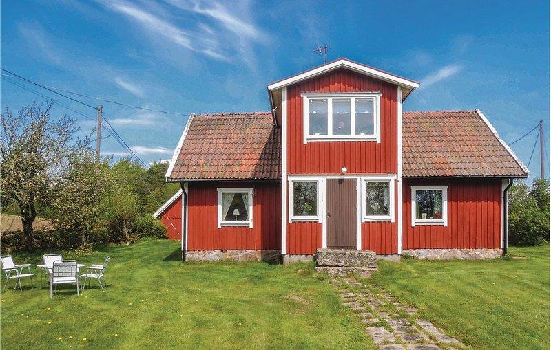 3 Zimmer Unterkunft in Strömsnäsbruk, holiday rental in Markaryd