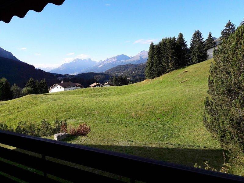 Fernsicht und Pistenzugang, vacation rental in Valbella