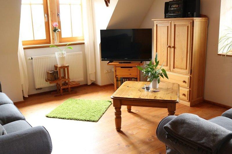 ***Ferienwohnung Spatzennest mit Balkon und Badewanne, vacation rental in Nordlingen