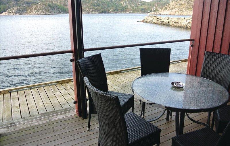 3 Zimmer Unterkunft in Korshamn, location de vacances à Mandal Municipality