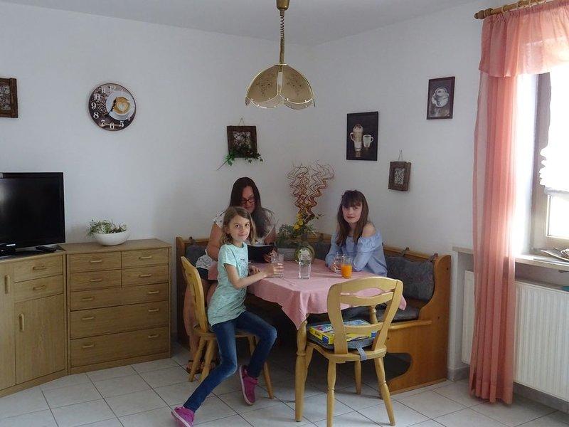 Fewo mit Sonnenbalkon perfekt für Familien oder Radfahrer, vacation rental in Zandt