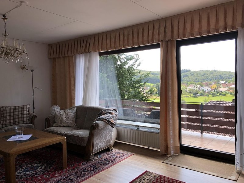 Ferienwohnung in ruhiger Lage, 8 Minuten entfern vom Bostalsee, holiday rental in Weiskirchen