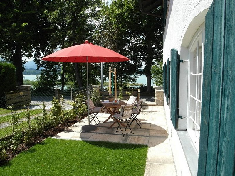 Toplage direkt am See, holiday rental in Upper Bavaria