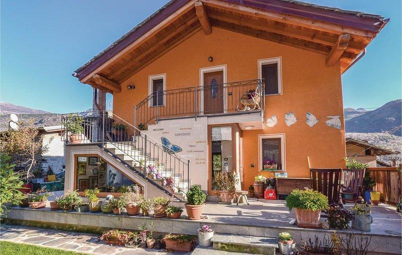 1 Zimmer Unterkunft in Champdepraz (AO), location de vacances à Champdepraz
