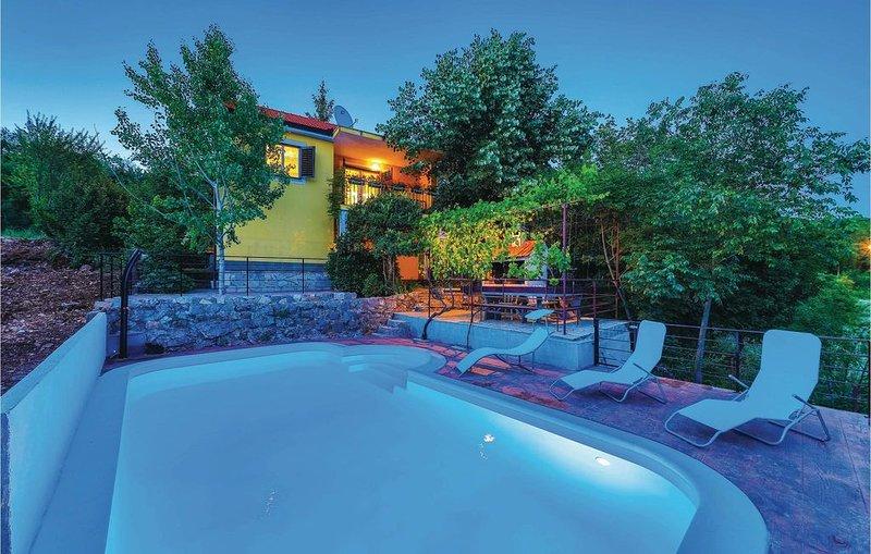 2 Zimmer Unterkunft in Trilj, holiday rental in Vedrine