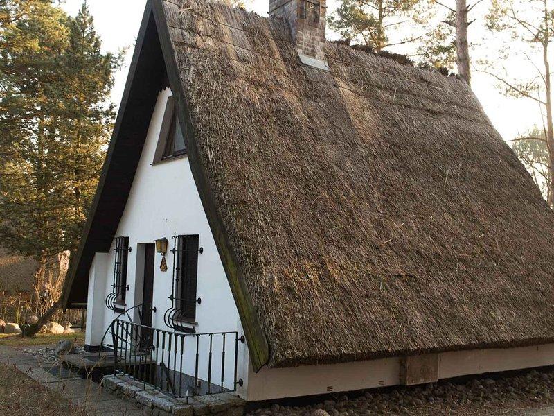 Ihr Familienparadies auf Usedom am Achterwasser idyllisch im Naturschutzgebiet, location de vacances à Rubkow