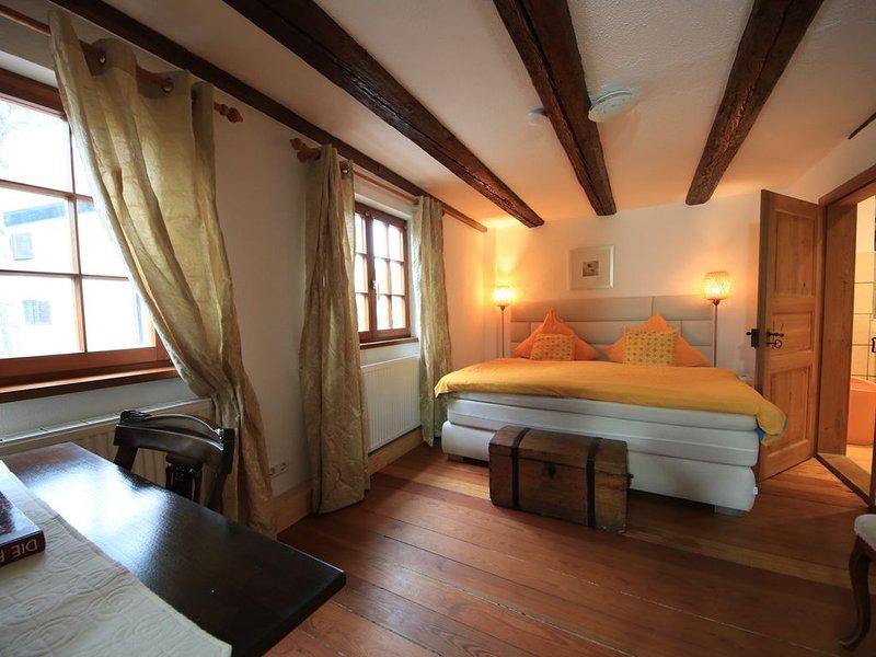 Ferienwohnung Terra Cotta, 66qm, 1 Schlafzimmer, 1 Wohn-/Schlafraum, max. 4 Pers, casa vacanza a Markdorf