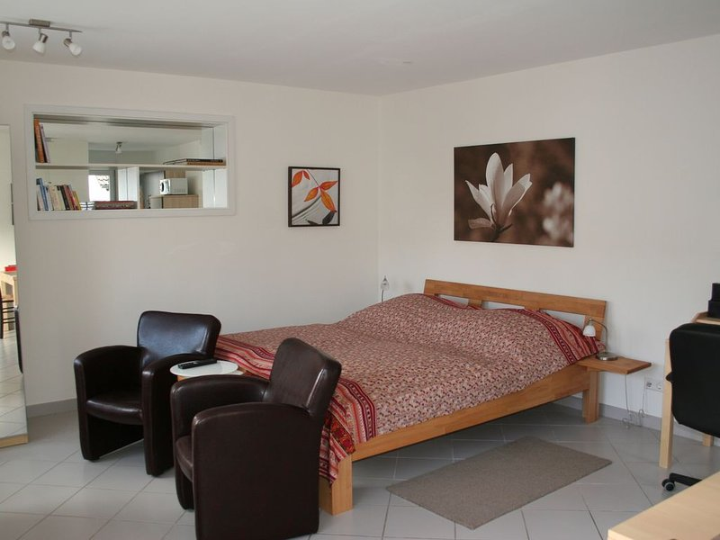 Ferienwohnung 1, 32qm, 1 Wohn-/Schlafzimmer, max. 2 Personen, Ferienwohnung in Augst
