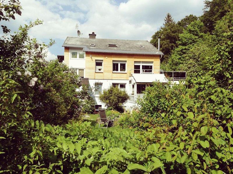 große nichtraucher Wohnung, ruhige Lage aber Ortsnähe, Quadvermietung am Haus, casa vacanza a Eimelrod