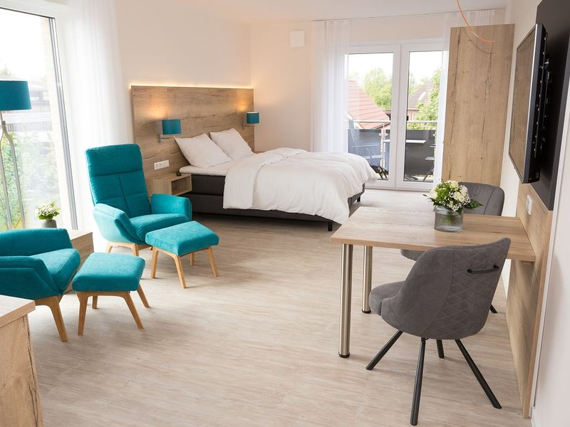 *home Boardinghouse Apartment Premium mit Terasse 01, holiday rental in Cloppenburg