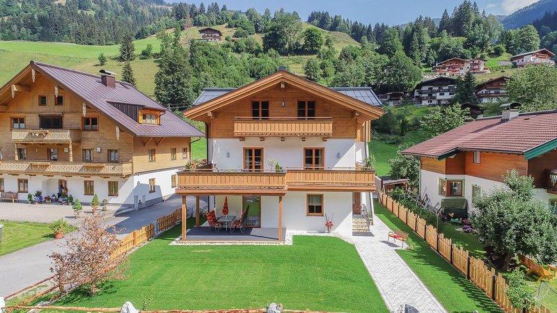 'Apartment Glemmtal'  mit Infrarotkabine   im Ferienhaus Neureiter 6-8 Personen, vacation rental in Viehhofen