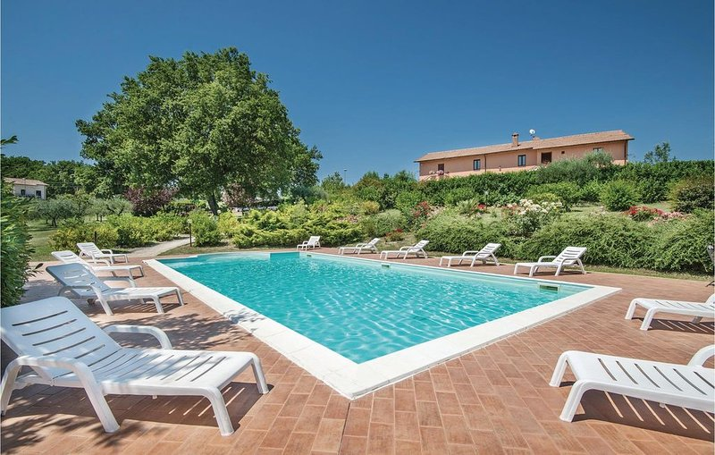 9 Zimmer Unterkunft in Acquasparta -TR-, location de vacances à Macerino