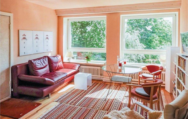 1 Zimmer Unterkunft in St. Annen, casa vacanza a Husum