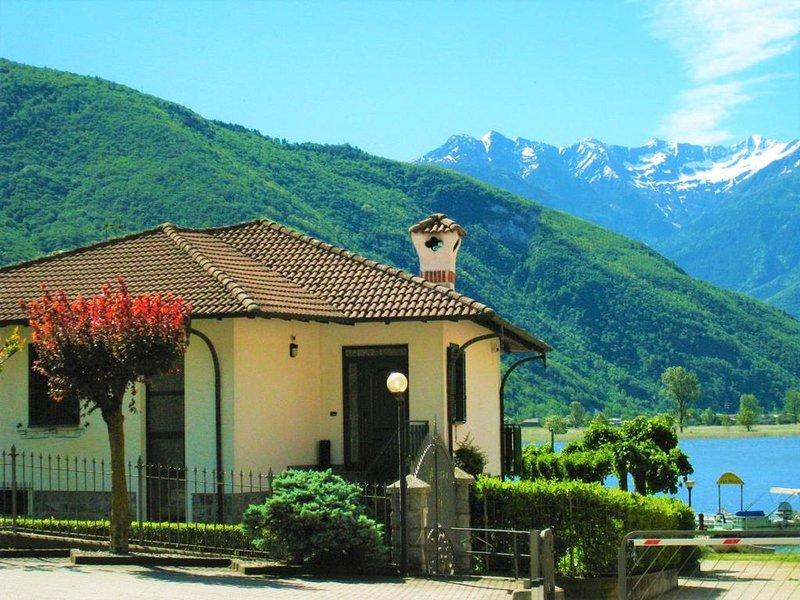 Oasi See-Ferien-Bungalow, holiday rental in Dascio