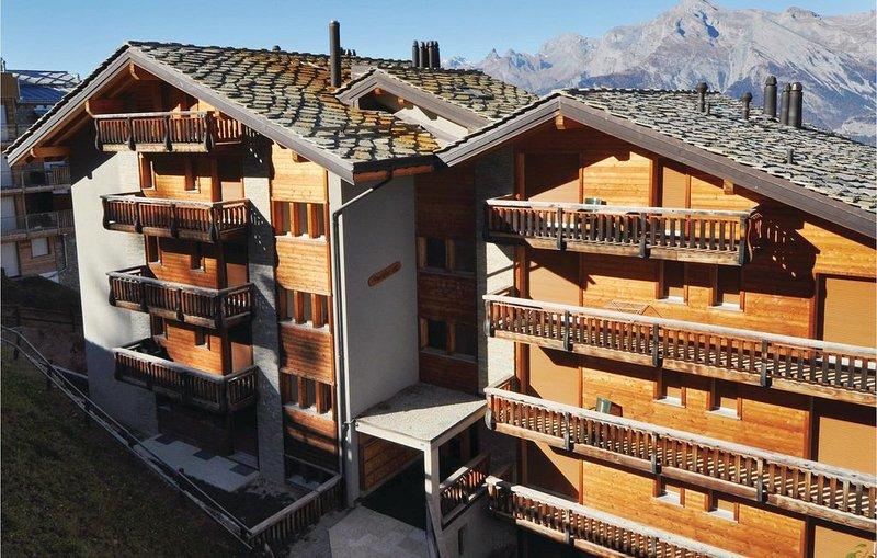 2 Zimmer Unterkunft in Veysonnaz, vacation rental in Veysonnaz