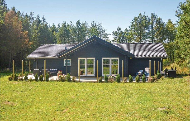 4 Zimmer Unterkunft in Bording, holiday rental in Vesterlund