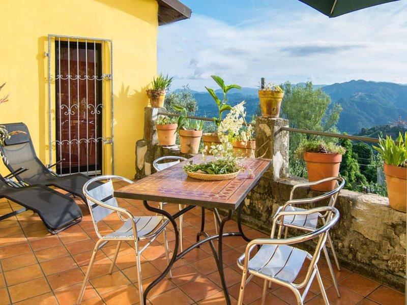 Ferienhaus Montedivalli für 1 - 5 Personen - Ferienhaus, location de vacances à Calice al Cornoviglio