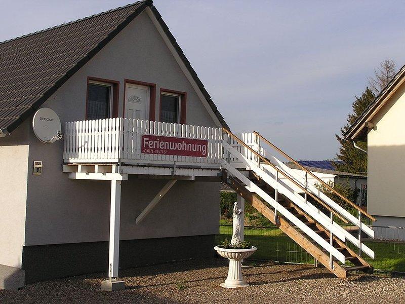 Freistehendes Ferienhaus, vacation rental in Bad Sulza