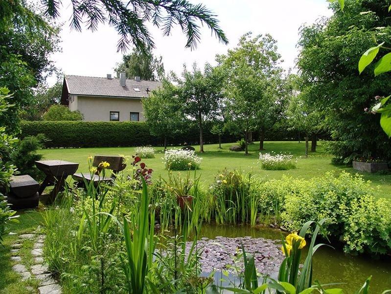 Apartment Uhrmann Franz (Lindberg) garden pond