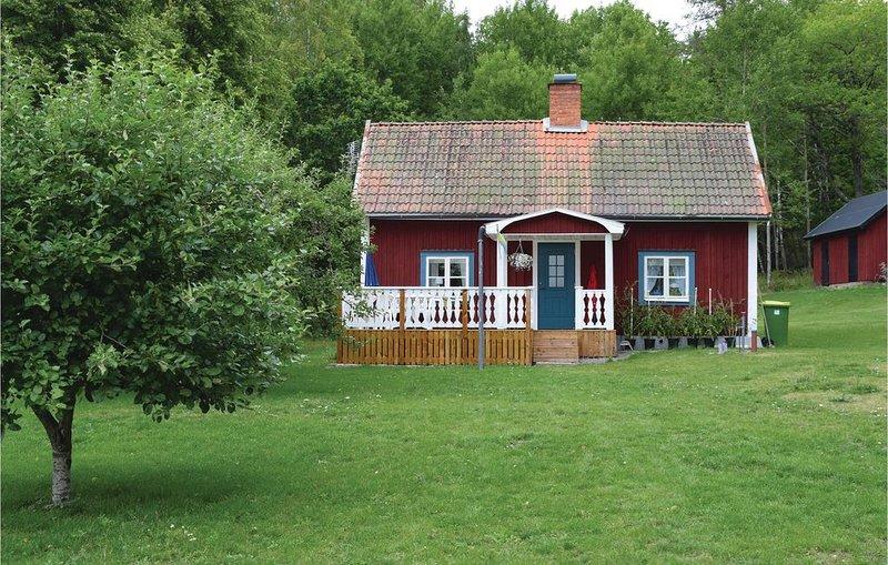 2 Zimmer Unterkunft in Tjällmo, aluguéis de temporada em Vreta Kloster