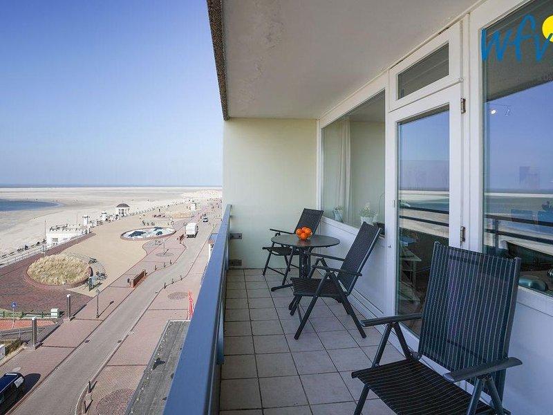 Genießen Sie eine traumhafte Aussicht auf die Nordsee!, location de vacances à Borkum