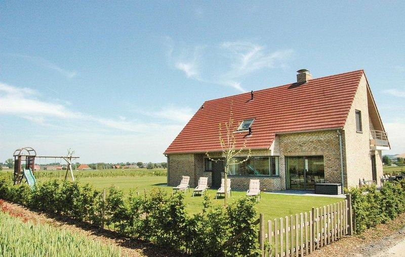5 Zimmer Unterkunft in Poperinge, holiday rental in Westvleteren
