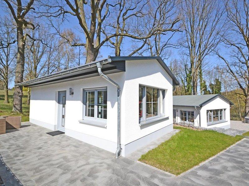Die Villa Doris ist eine moderne Stadtvilla in ruhiger Ortsrandlage mit Anlieger, Ferienwohnung in Seebad Heringsdorf