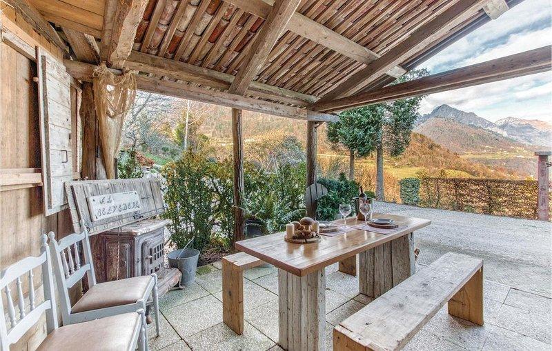 2 Zimmer Unterkunft in Pedavena (BL), holiday rental in Tonadico