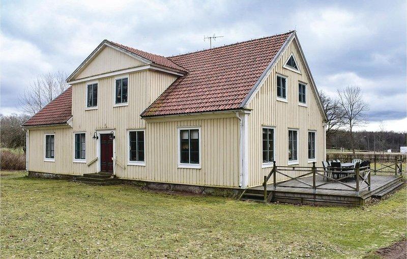 6 Zimmer Unterkunft in Kallinge, holiday rental in Ronneby