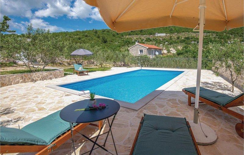 2 Zimmer Unterkunft in Vid, location de vacances à Metkovic