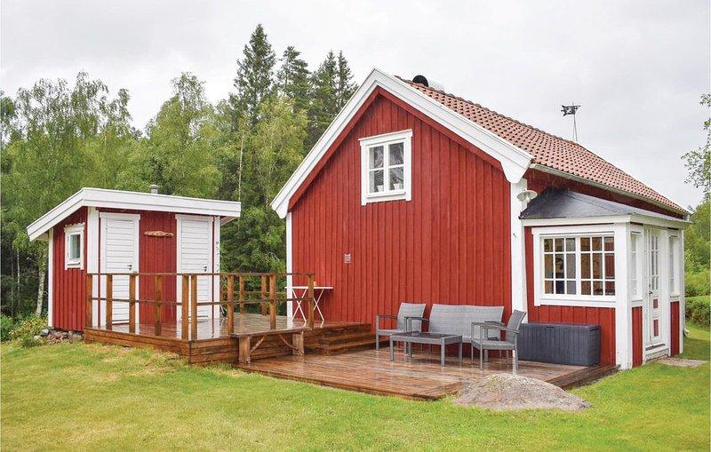 2 Zimmer Unterkunft in Nässjö, vacation rental in Bodafors