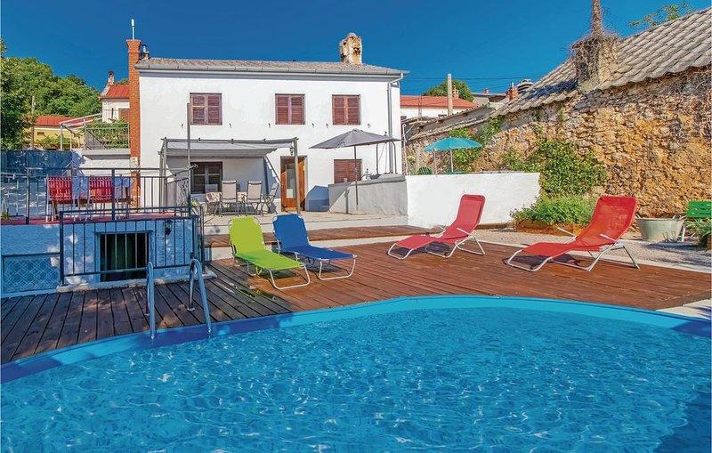 4 Zimmer Unterkunft in Hreljin, holiday rental in Praputnjak