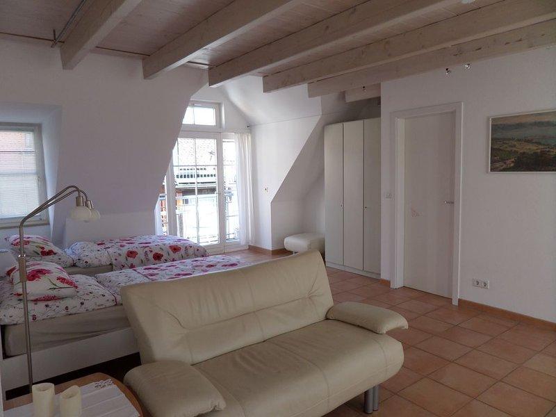 Ferienwohnung, 45qm, 1 Wohn-/Schlafzimmer max. 2 Personen, location de vacances à Wasserburg am Bodensee