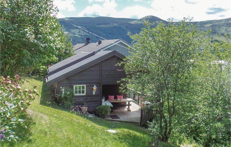 1 Zimmer Unterkunft in Vågå, casa vacanza a Mysuseter