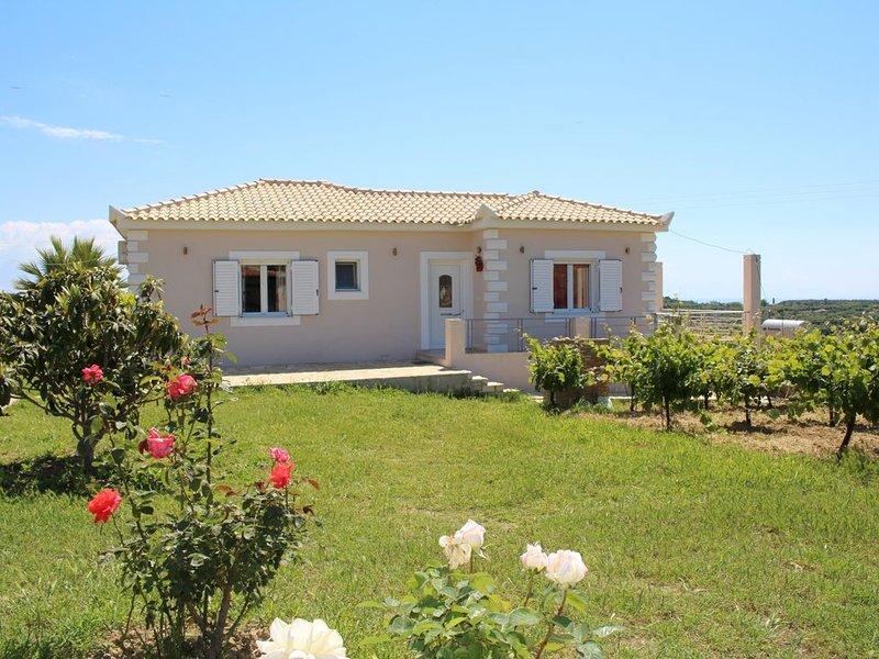Ferienhaus in schöner, ländlicher Umgebung mit traumhaftem Meerblick | Messenien, location de vacances à Pylos-Nestor