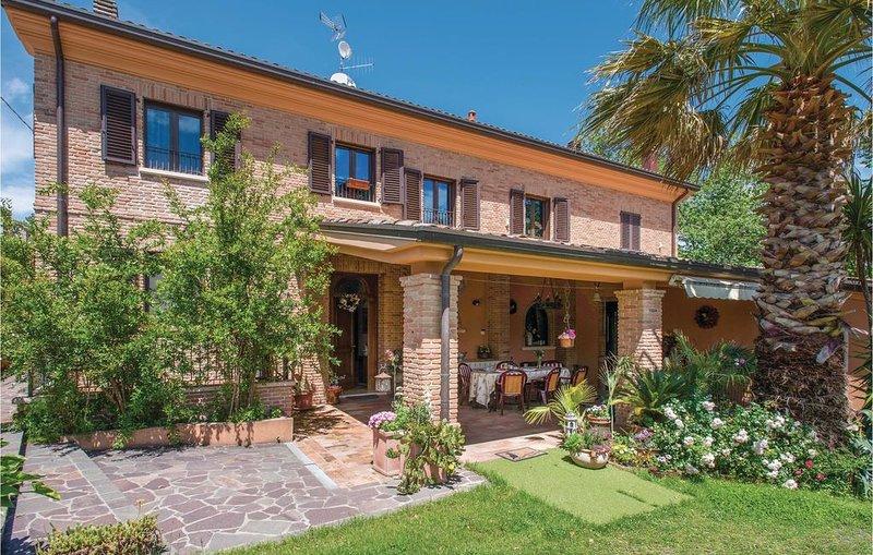 3 Zimmer Unterkunft in Fanano di Gradara, vacation rental in Peglio