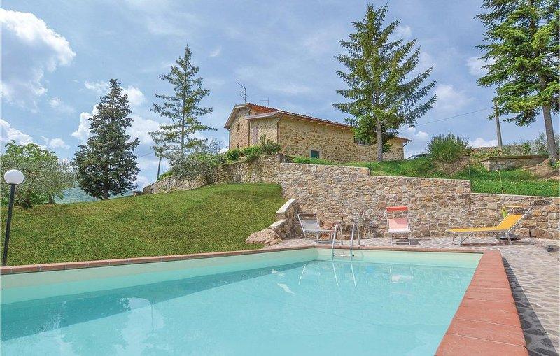 3 Zimmer Unterkunft in Arezzo (AR), holiday rental in Monterchi