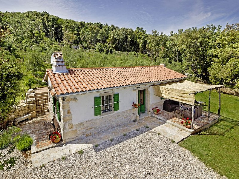 Roinizza in Prtlog (Haus für 4-5 Personen), alquiler vacacional en Labin